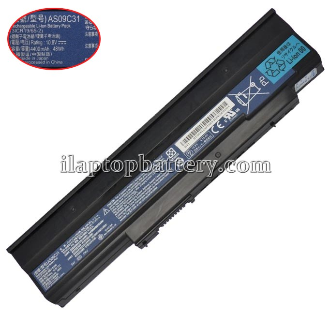 Packard Bell Easynote nj32 Battery Picture