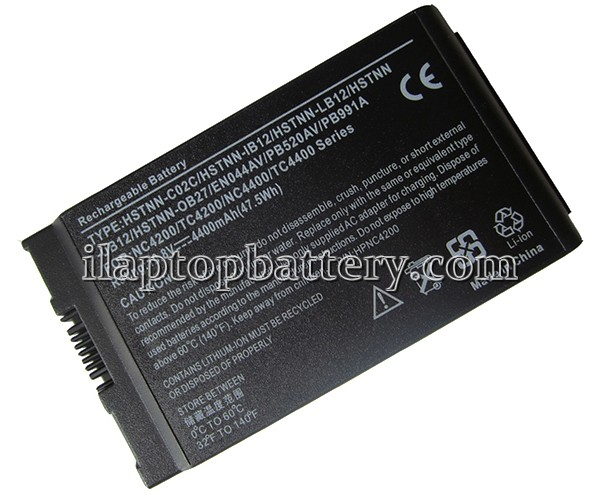 Hp Compaq Business Notebook nc4200 Series Battery Picture