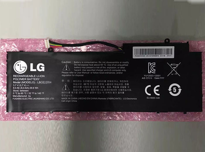 Lg lbg622rh Battery Picture