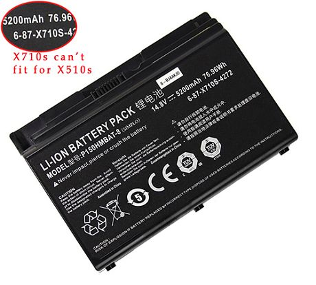 Clevo p150hm Series Battery Picture
