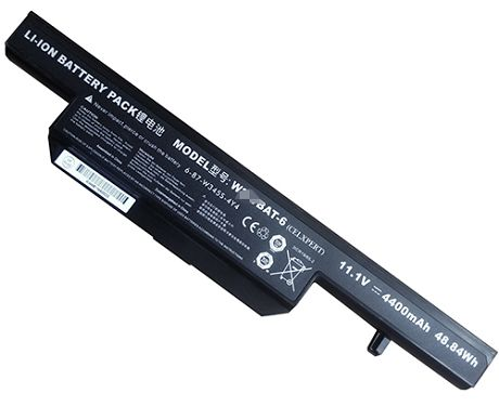 Clevo w340bat-6 Battery Picture