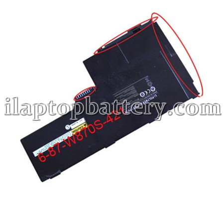 Clevo 6-87-w87s-421a Battery Picture