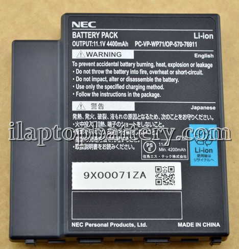 Nec Pc-lt900bd Battery Picture